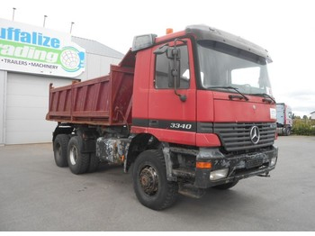 Mercedes-Benz Actros 3340 - 6x6 - full steel - istovarivač