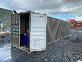 40' Container c/w Racking, Filters, Desk (Located at Cumnock, KA18 4QS, Scotland) No crane available - buyer will need to provide crane themselves for loading - kontejner