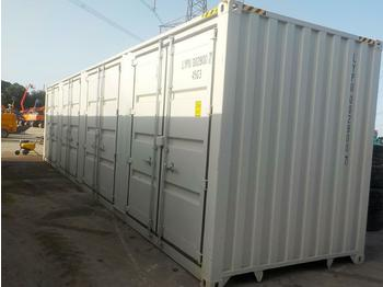 Unused 40' HQ High Cube Container, Four Side Open Door, One End Door, Lock Box - kontejner