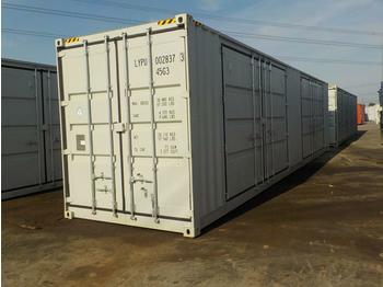 Unused 40' HQ High Cube Container, Two Side Open Door, One End Door, Lock Box - kontejner